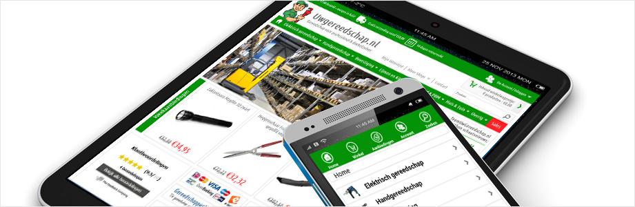 Mobiele-webshop